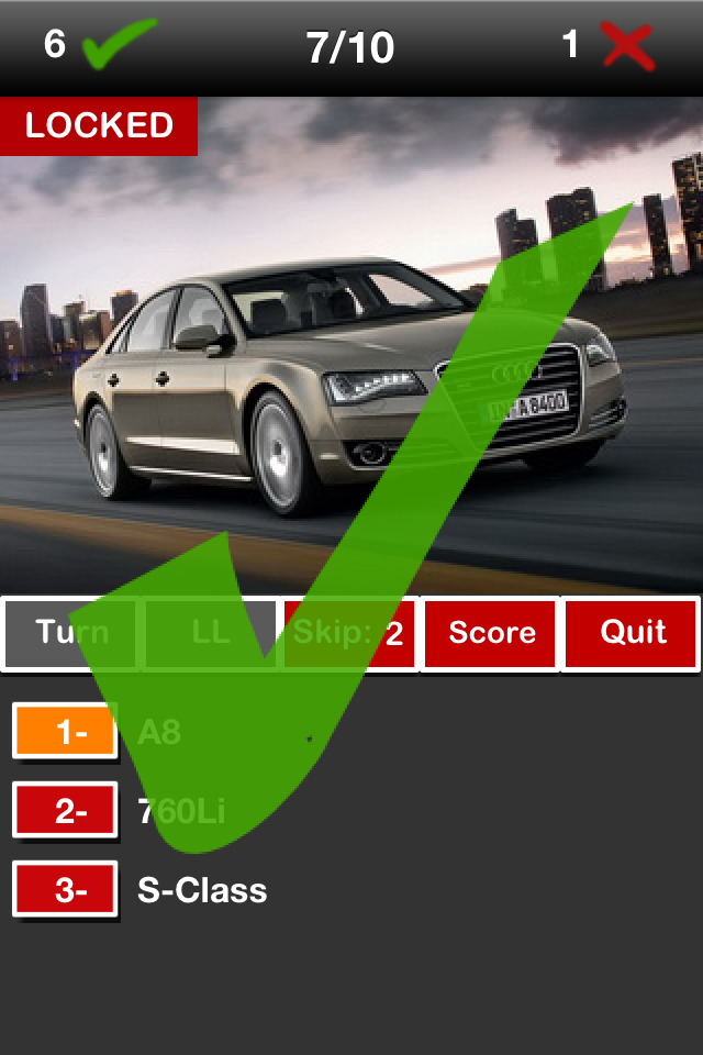 Screenshot Cars Quest Free
