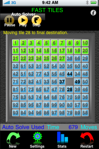 Screenshot Tate's Tiles – The Amazing Sliding Tile Puzzle